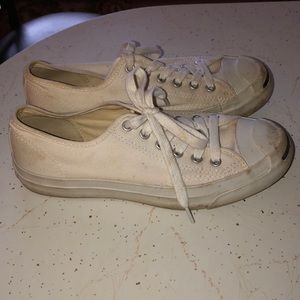 Converse Shoes - 7.5 CONVERSE JACK PURCELL STYLE WHITE